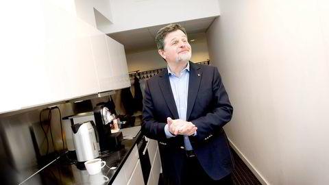 Asmund Haare i First Hotels mener hotellbransjen må forberede seg på noen tøffe år som følge av nedkjølingen i norsk økonomi. Foto: Elin Høyland