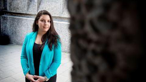 Studentleder Daniella Rivera i Juristforbundet sier bachelorutdannelsen i jus må stå på egne ben, ikke være en uferdig masterutdannelse slik som i dag.                   Foto: Ida von Hanno Bast