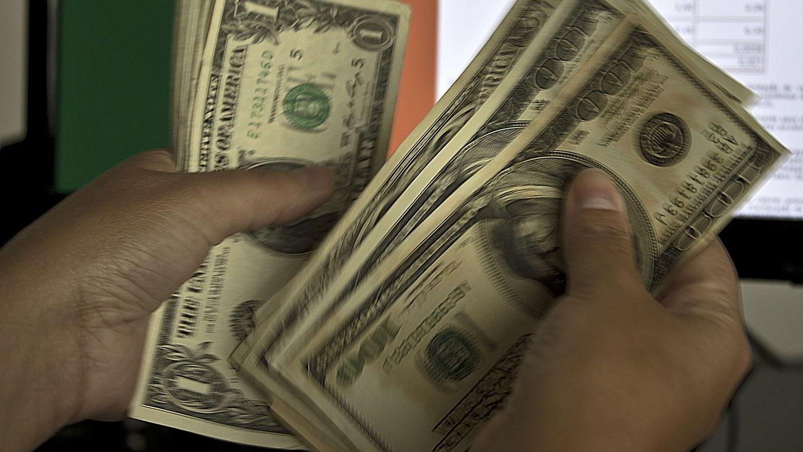 AVVENTENDE MARKED. Todagersmøtet i den amerikanske sentralbanken Federal Reserve(Fed) begynner tirsdag.