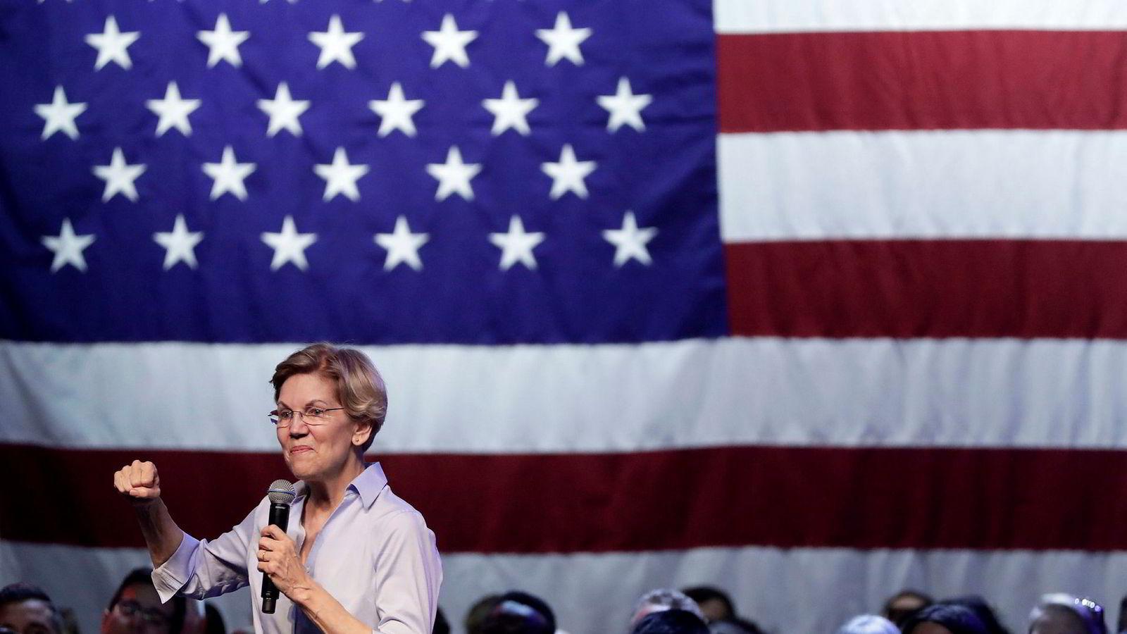 Den mest troverdige kandidaten, Elisabeth Warren, står i det gamle paradokset at hun må tape primærvalget for å vinne presidentvalget, eller omvendt, skriver artikkelforfatteren.