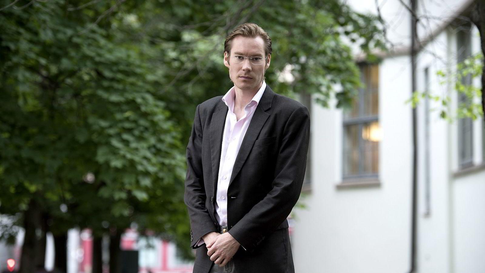 Partner Henrik Matsen i RMR Advisors i London varsler økt konkurranse og billigere forsikring.