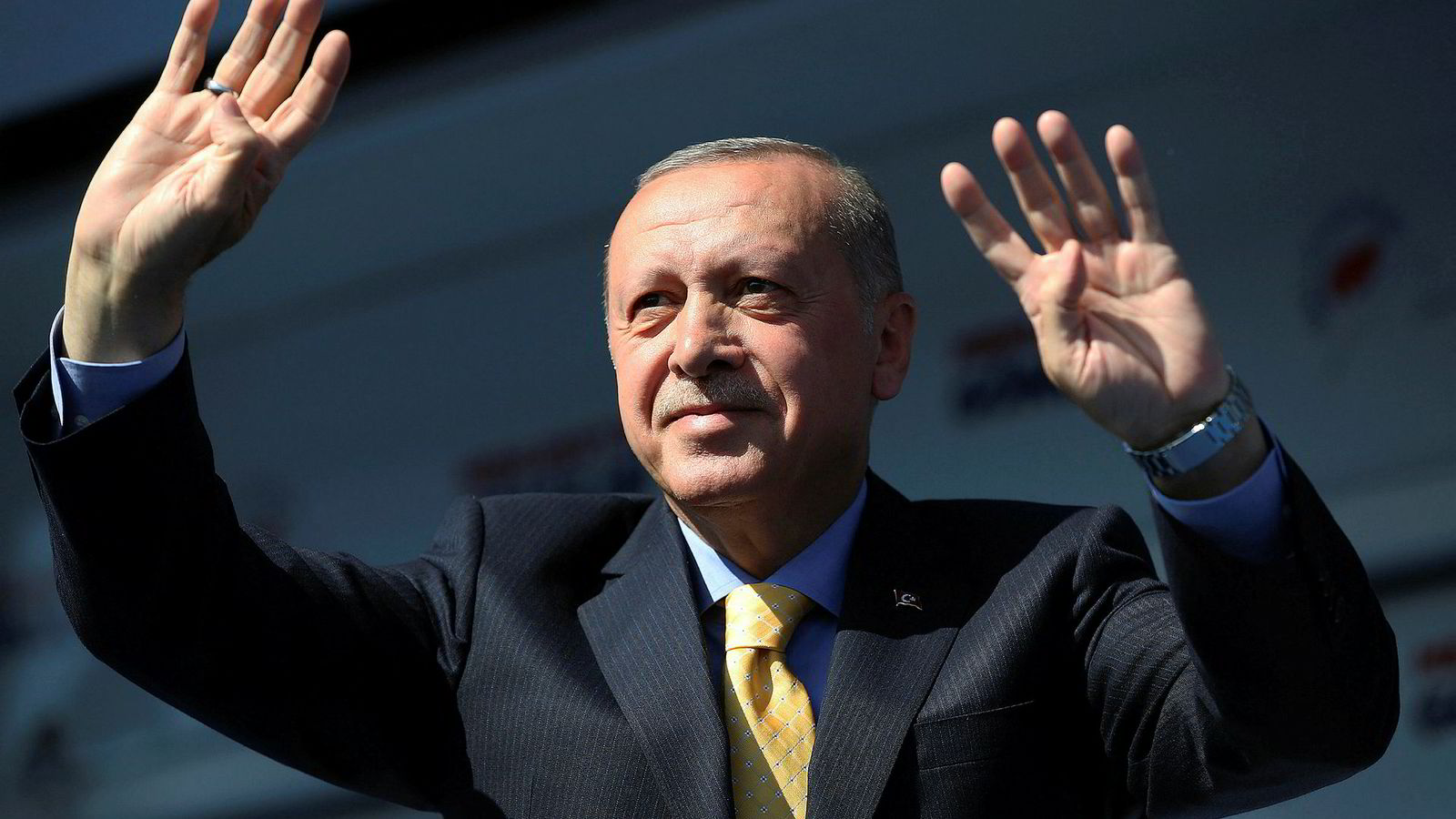 Tyrkias president Recep Tayyip Erdogan.