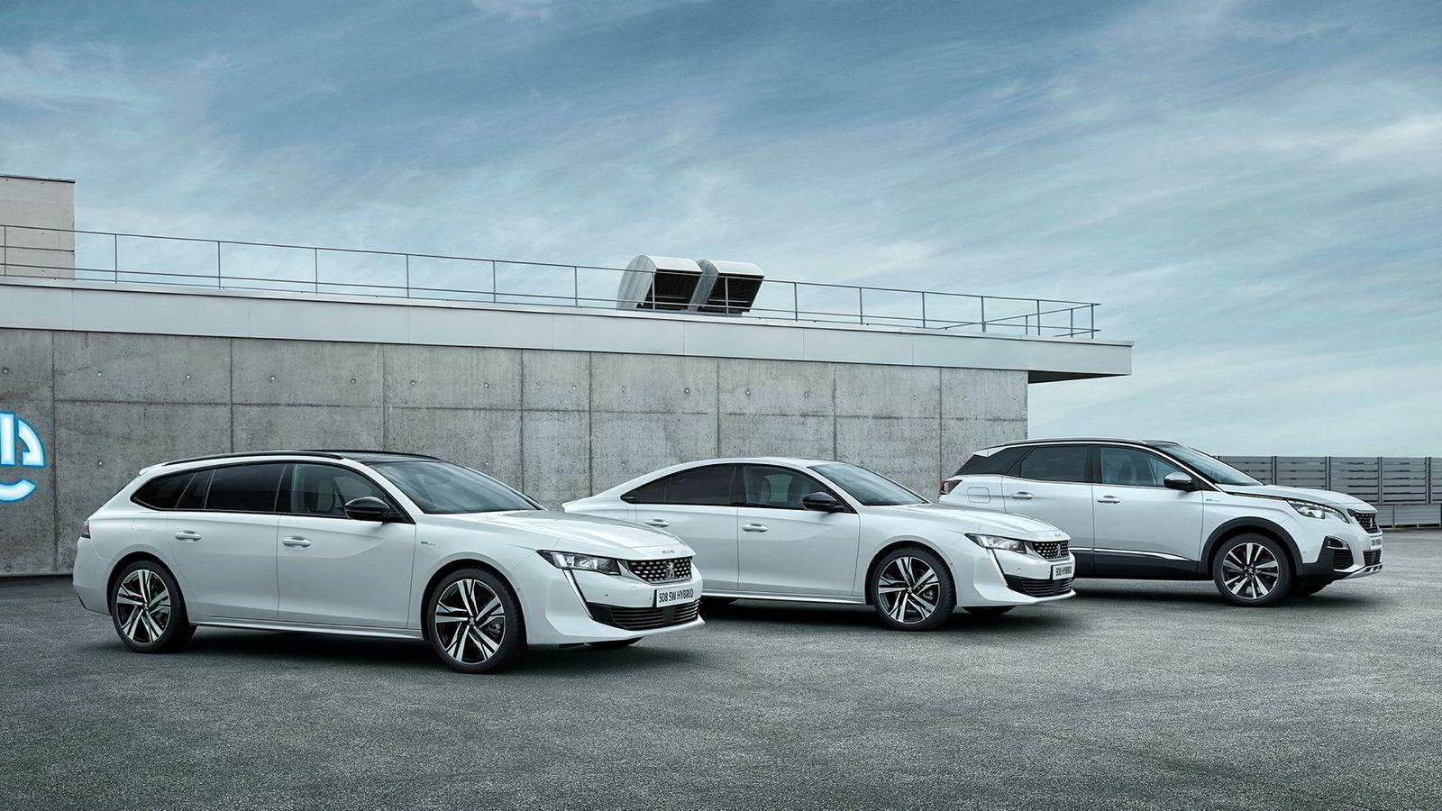 Neste år kommer Peugeot 508 og 3008 som ladbare hybrider.