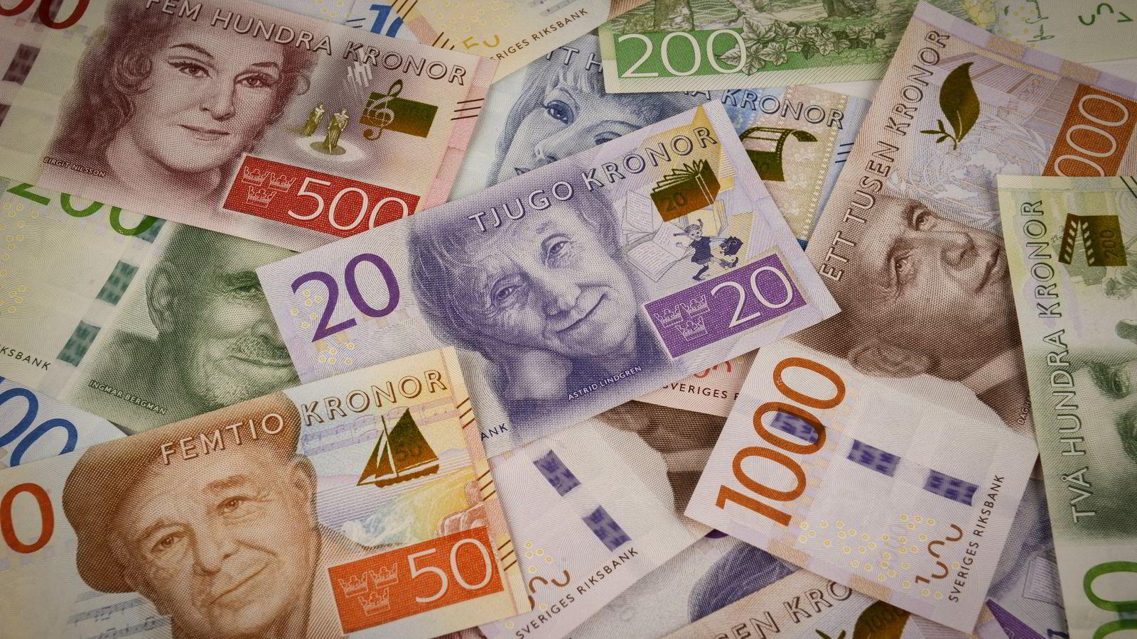 Verdens valutaspekulanter har kastet sine øyne på den svenske kronen, ifølge valutastrateg Magen Østnor i DNB Markets. Foto: