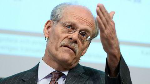 Sjefen for Riksbanken, Stefan Ingves, var med å feire bankens 350 årsdag fredag. Foto: Claudio Bresciani