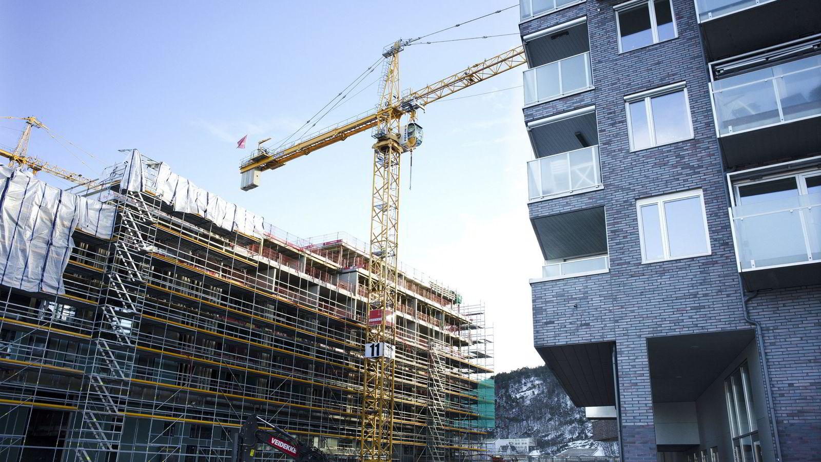 Handelsbanken advarer mot overdreven boligbygging basert på kortsiktige prissvingninger.