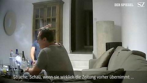 Møtet mellom Strache og kvinnen fant sted i en luksusvilla på den spanske øya Ibiza i juli 2017, tre måneder før valget i Østerrike som førte til at Straches parti kom til makten og han ble visestatsminister.