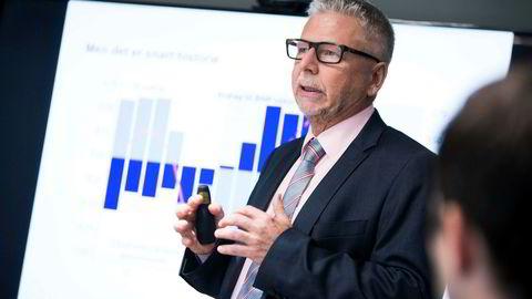 Erik Bruce, sjefanalytiker i Nordea, offentliggjorde oppdaterte prognoser for norsk og internasjonal økonomi i makrorapporten Nordea Economic Outlook forrige måned.