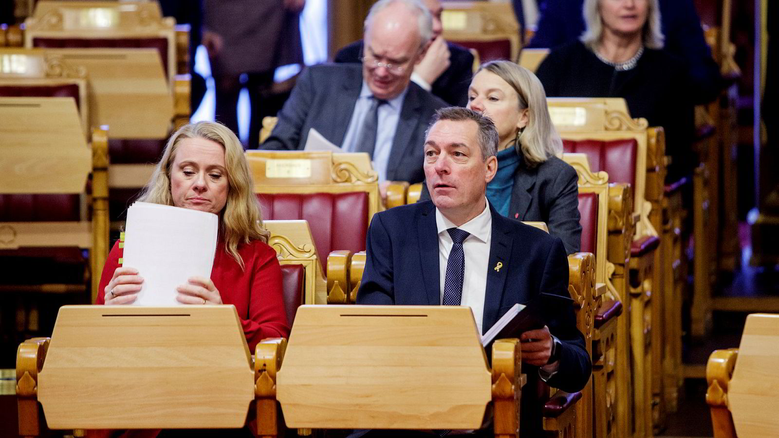 Regjeringen og arbeidsminister Anniken Hauglie (til venstre) gjorde rett i å innføre obligatorisk aktivitetsplikt for unge mennesker som går på sosialhjelp.