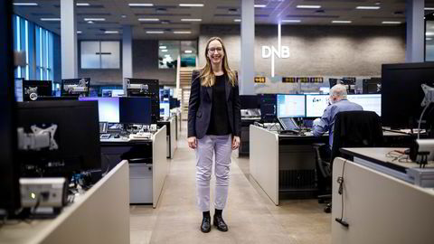 Sjeføkonom Kjersti Haugland i DNB Markets tror ikke renten blir satt opp før neste år.
