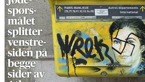 «Jødespørsmålet» er knyttet opp mot forfølgelsen av jøder under annen verdenskrig. Aftenposten brukte begrepet i denne tittelen i sin onsdagsutgave.