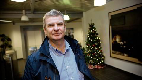 Administrerende direktør Tor Henning Ramfjord tror på ny opptur for National Oilwell Varco og resten av offshoreleverandørindustrien sent i 2017. Det betyr halvannet til to år med mørke. Foto: Tomm W. Christiansen