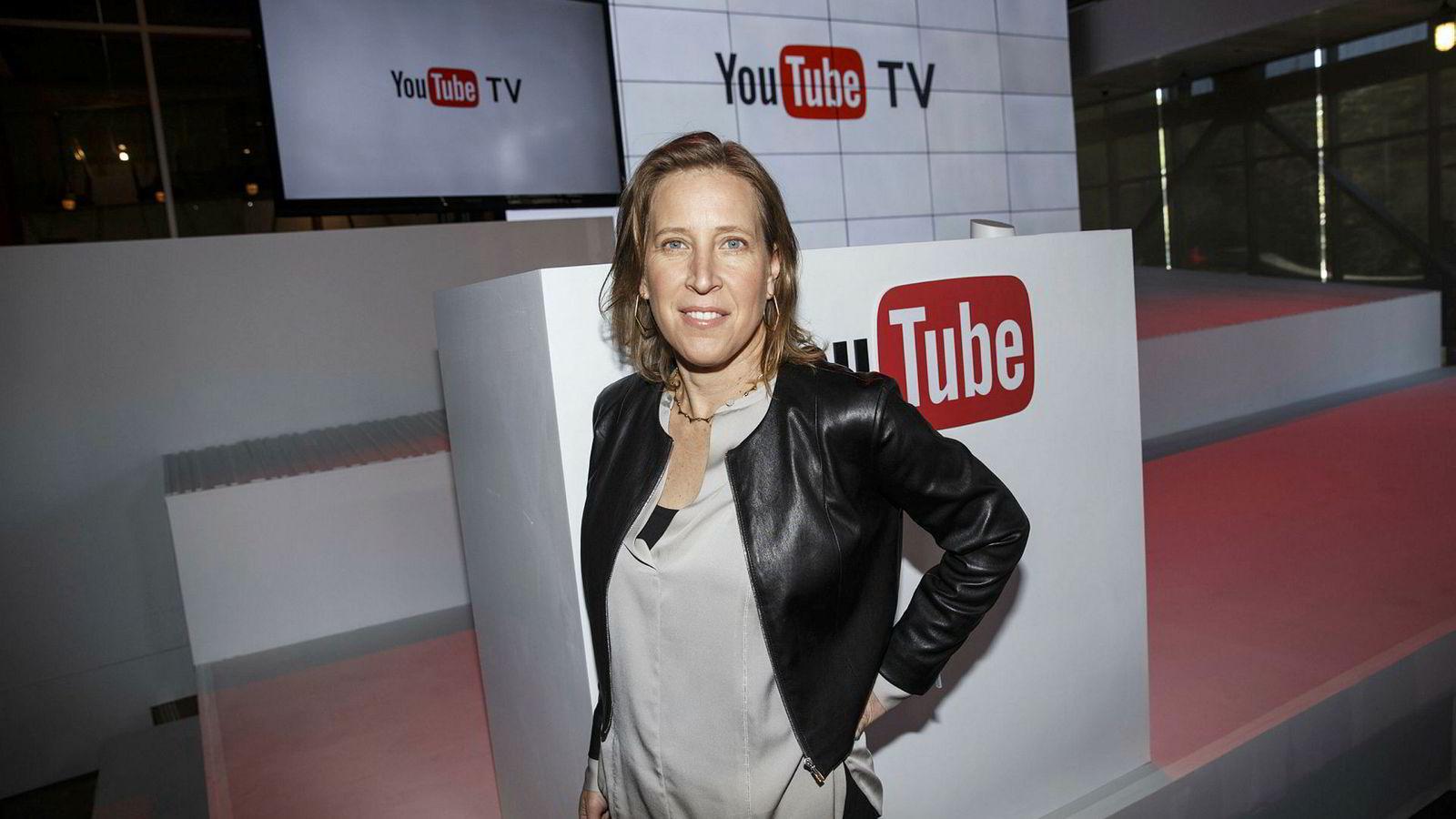 Susan Wojcicki, toppsjef i Youtube, ble kåret til den mektigste kvinnen i it 2018 av Forbes.