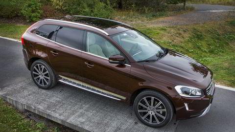 Volvo topper blant merkene, og XC60 er den enkeltmodellen som får flest poeng i den tyske kundeundersøkelsen. Foto: