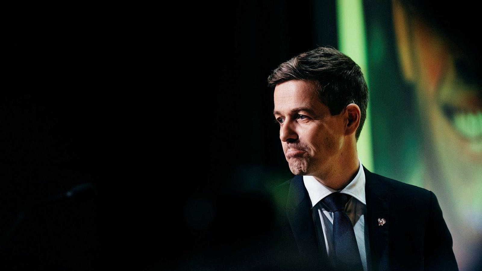 Knut Arild Hareide led nederlag på KrFs ekstraordinære landsmøte i november. Neste uke kan han gå av som partileder dersom KrF går inn i regjering.
