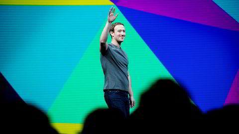 Facebook, som ledes av Mark Zuckerberg, drar inn milliarder av annonsekroner i Norge.