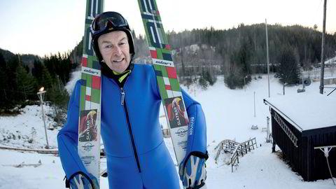 – Heldigvis er det mindre risikabelt å sette av gårde ned ovarennet enn å investere på børsen, sier skihopper Jan Skevik (67) som rett før jul måtte se rundt fem millioner aksjer i Norske Skog bli verdiløse.