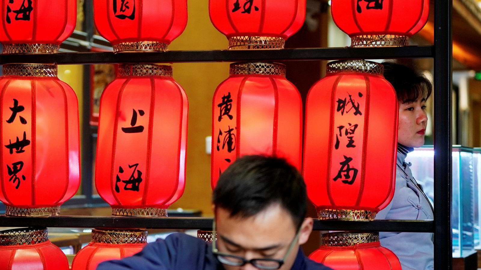 Kina tok fri i forrige uke i forbindelse med nyttårsfeiringen. Mange selskaper sliter og det ventes rekordstore mislighold de neste månedene av gjeld som har forfall.