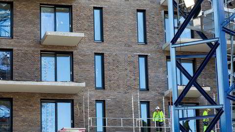 Onsdag ble det lagt frem ferske tall for boligbyggingen i Norge.