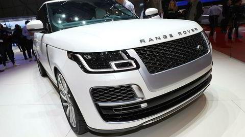 Range Rover SV Coupé hadde premiere i Genève forrige uke.