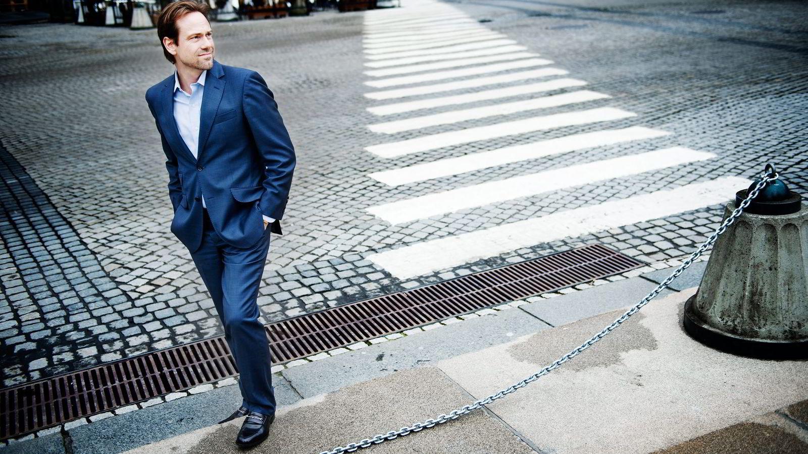 Endre Tarald Glastad, som eier selskapet sammen med sin mor og sine søsken, er tilfreds med utviklingen i 2014. Foto: Hampus Lundgren