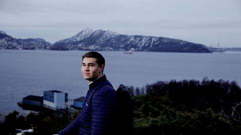 NHH-student Joachim Knudtsen Indrevik (21) bytter ut vestlandsnatur med japansk storbyliv i et halvt år.