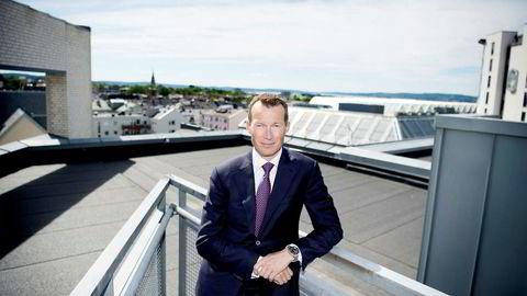 Nordeas storkundesjef Thorodd Bakken ser få tegn til investeringslyst hos de største norske bedriftene.
