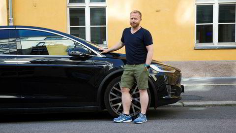 Magnus Rambraut er lei av servicen Tesla leverer.