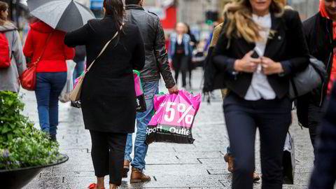 Nye tall for konsumprisindeksen ble sluppet mandag.