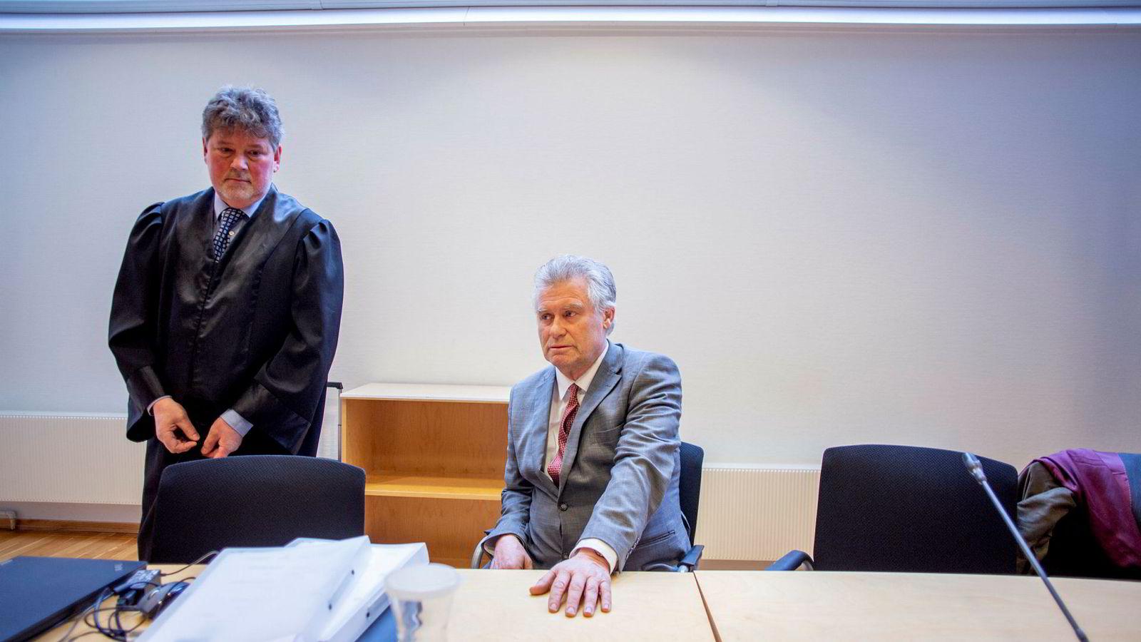 Eiendomsinvestor Leif Botolf Hesle vant saken mot saksmålet fra tidligere arbeidsgivers pensjonskasse.