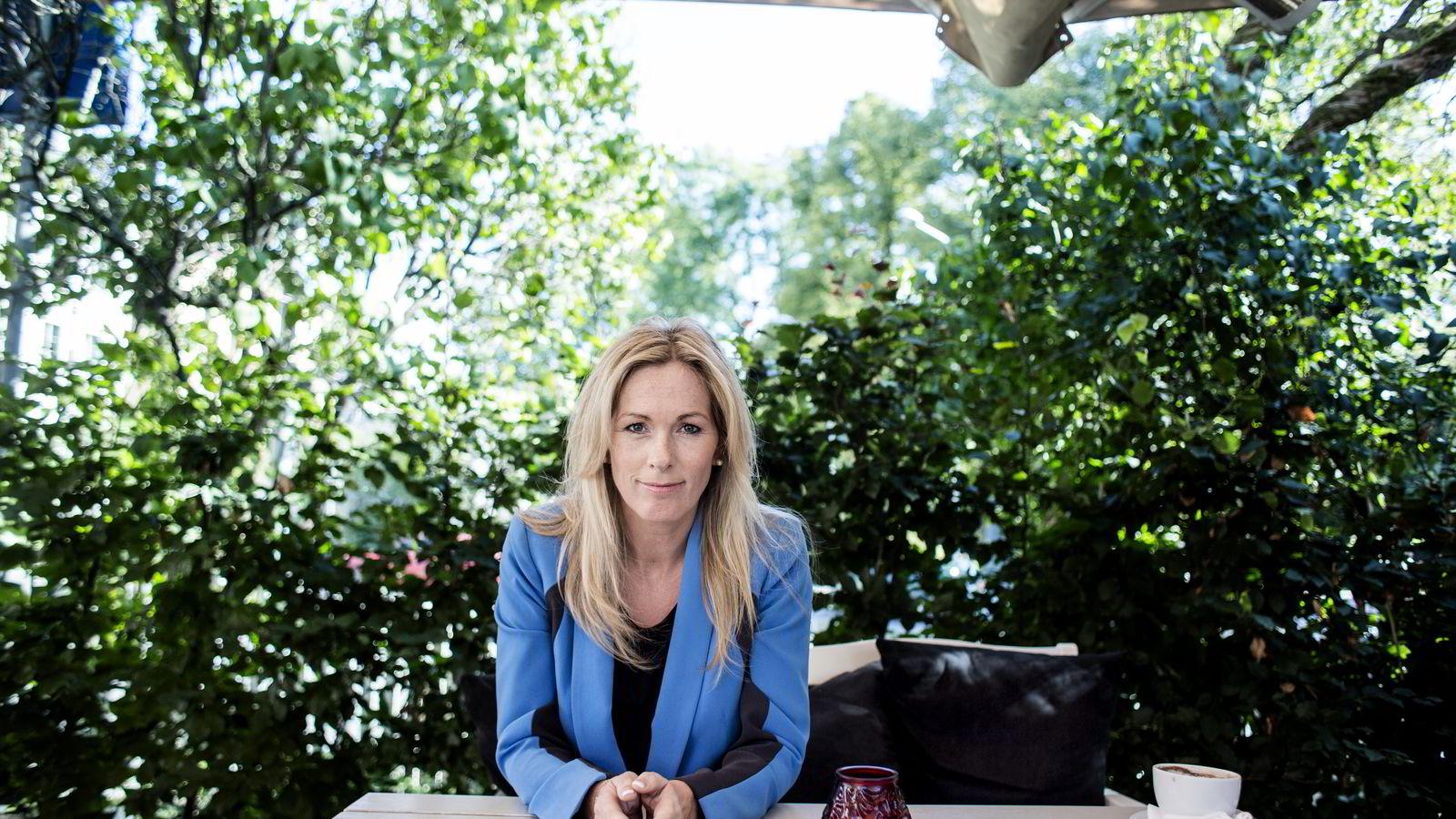 MISFORNØYD. Leder Anita Krohn Traaseth i Innovasjon Norge hevder hun blir utsatt for «drittpakker». Dette tilbakeviser de tillitsvalgte. FOTO: Fredrik Bjerknes
