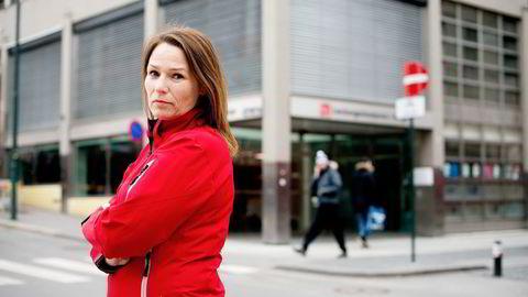 Forbundsleder Trine Lise Sundnes i Handel og Kontor. Foto: Mikaela Berg