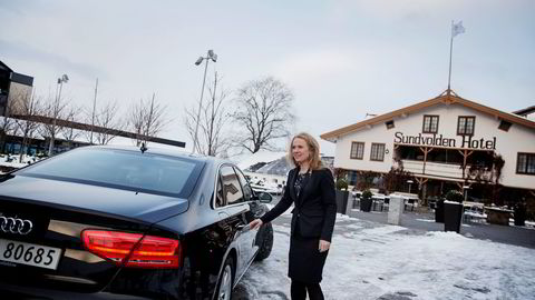 Arbeidsminister Anniken Hauglie har bestemt seg for hvordan Arbeidstidsutvalget skal følges opp. Foto: Fredrik Bjerknes