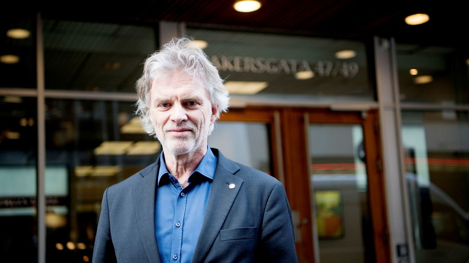 Adm.dir. Tom Harald Jenssen i Cappelen Damm.