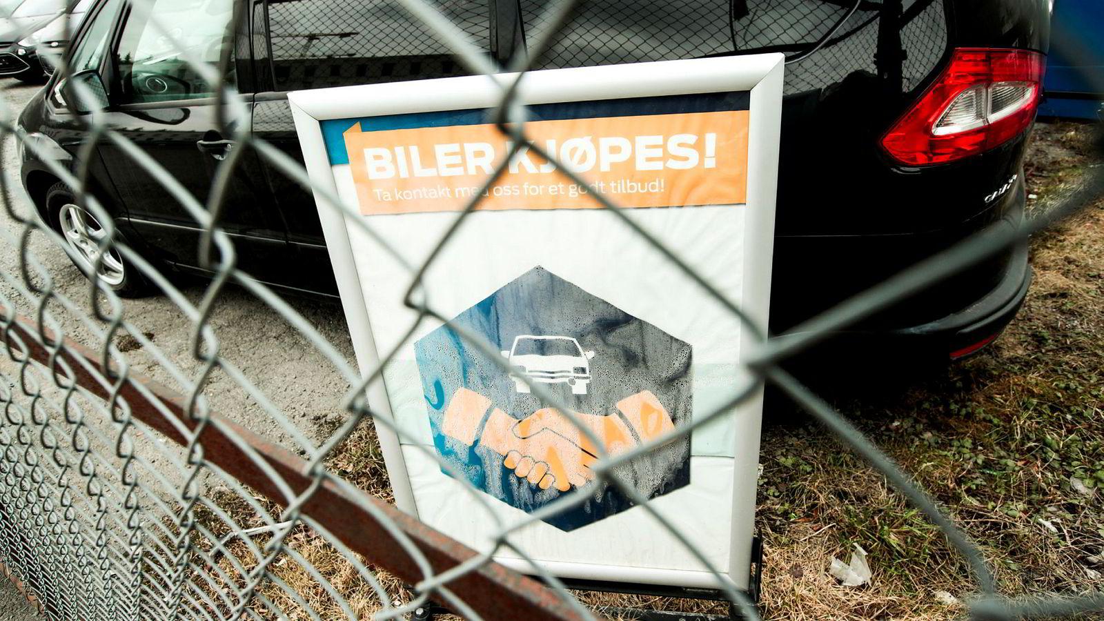 Hvis brukthandelloven forsvinner, vil det åpne for hvitvasking og svindel, ifølge Norges Bilbransjeforbund.
