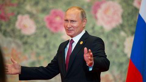 Russlands president Vladimir Putin beskylder G7-landene for å drive med kreativ babling.