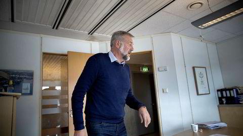 Riggründeren og milliardæren Bjarne Skeie slet på børsen i fjor.