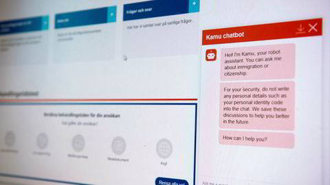 Digitaliseringsstrategien presenterer en ambisjon om at innbyggerne skal få tilgang til en virtuell assistent, en digital hjelper som følger deg, uansett hvilke offentlige tjenester du benytter deg av – og uavhengig av hvilken offentlig nettside man er på.