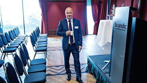 Administrerende direktør Ole Henrik Bjørge i Pareto Securities hadde en inntekt på 42 millioner kroner ifjor. Foto: Aleksander Nordahl