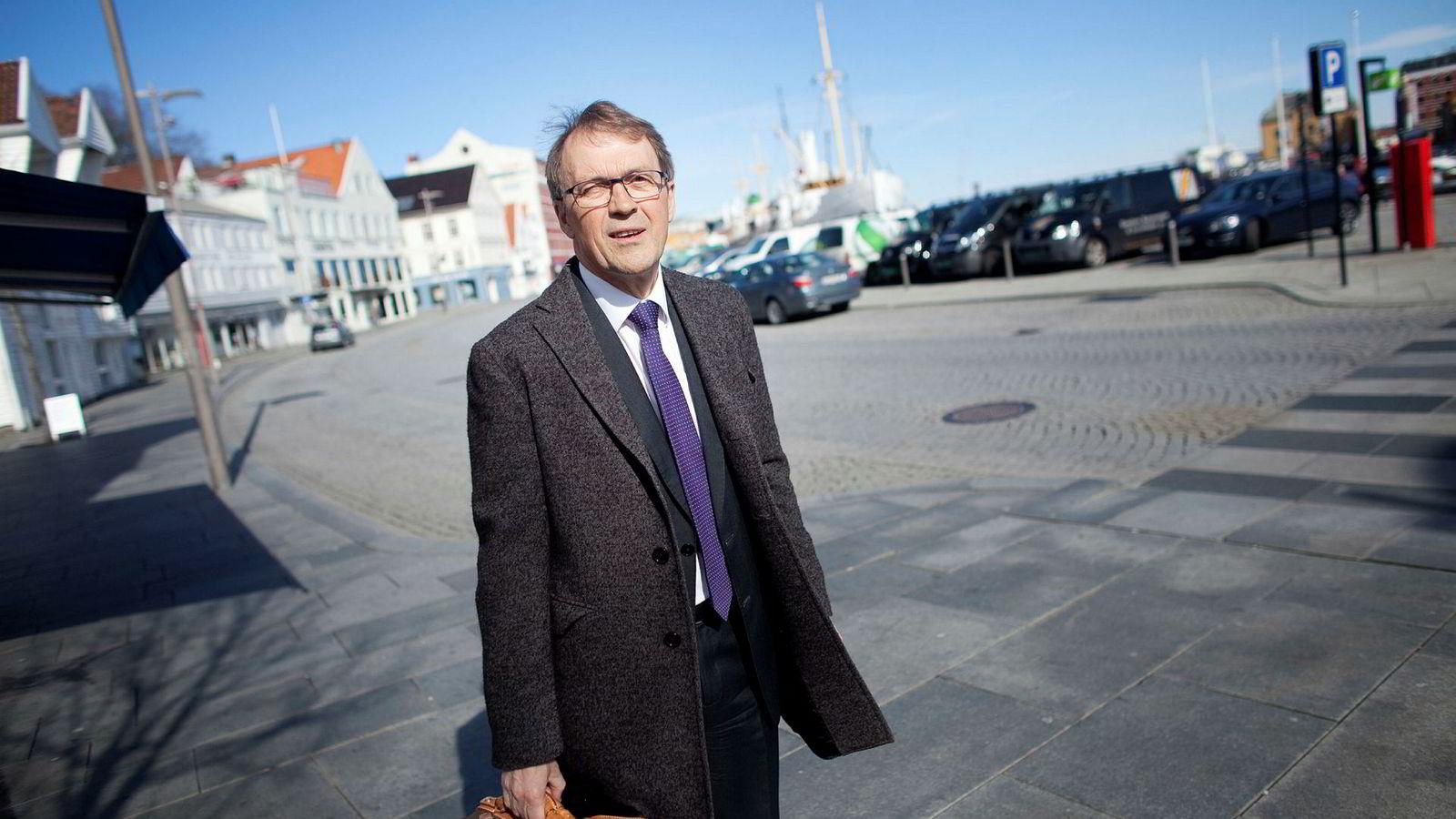 Eivind Reiten er styreleder i Kongsberggruppen.