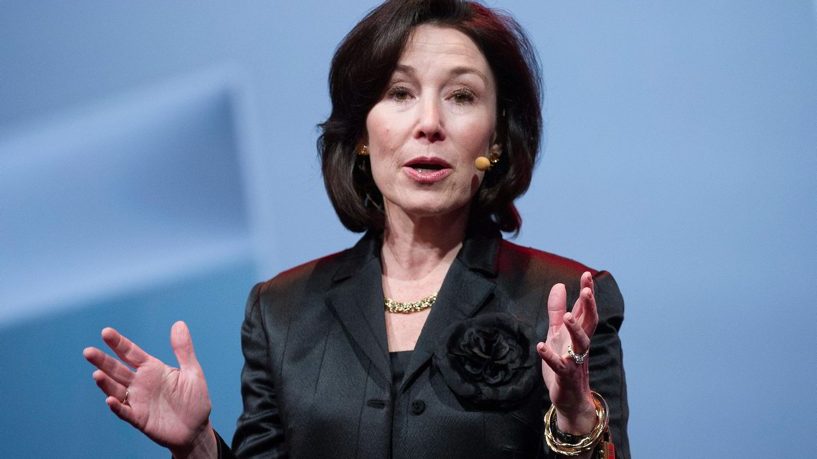 Oracle-sjef Safra Catz var USAs tredje best betalte person. Foto: David Paul Morris/