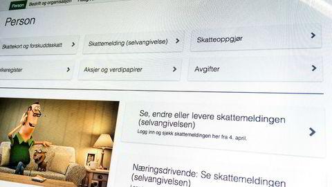 Skatteetaten har fått et nytt våpen i kampen mot skattesnyterne. Foto: Stian Lysberg Solum / NTB scanpix