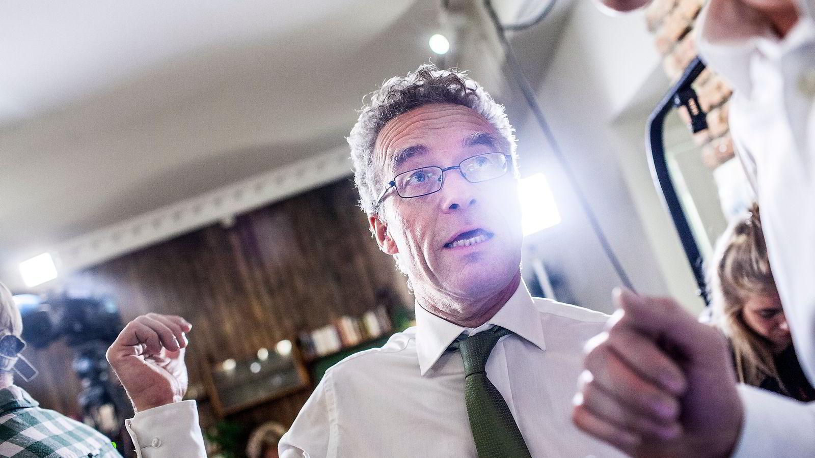 MDGs talsperson og stortingsrepresentant Rasmus Hansson ble en av valgets store vinnere