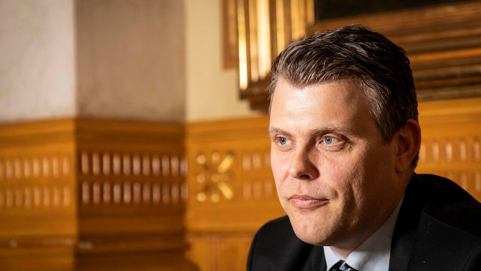 Justisminister for Jøran Kallmyr.