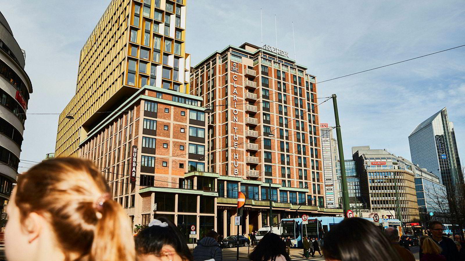 Frykten for krevende tider for hotellbransjen i Oslo etter åpningen av mange nye hoteller, ser ut til å være ubegrunnet. Her ser vi Stordalen hotellet Clarion Hotel The Hub ved Oslo S.