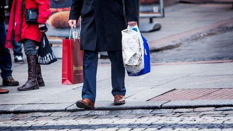 Julehandelen i forrige uke var svakere enn i samme uke ifjor.