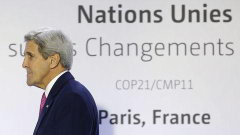 USAs utenriksminister John Kerry skal forsøke å sikre en fredsavtale for Colombia. Foto: Reuters / NTB scanpix