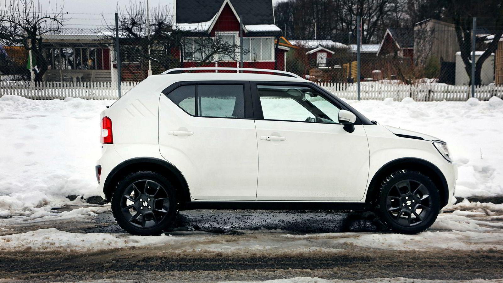 Hvis du trenger suv for å kjøre til kolonihytta, så er Suzuki Ignis den perfekte bilen.