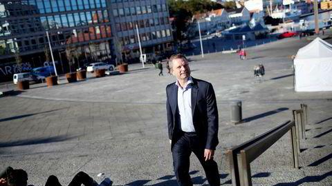 – Av et finansresultat på rundt 96 millioner kroner, utgjør gevinst på salget av aksjene i Skagen rundt 30 millioner kroner, sier tidligere Skagen-sjef Harald Espedal. Foto: Tomas Alf Larsen