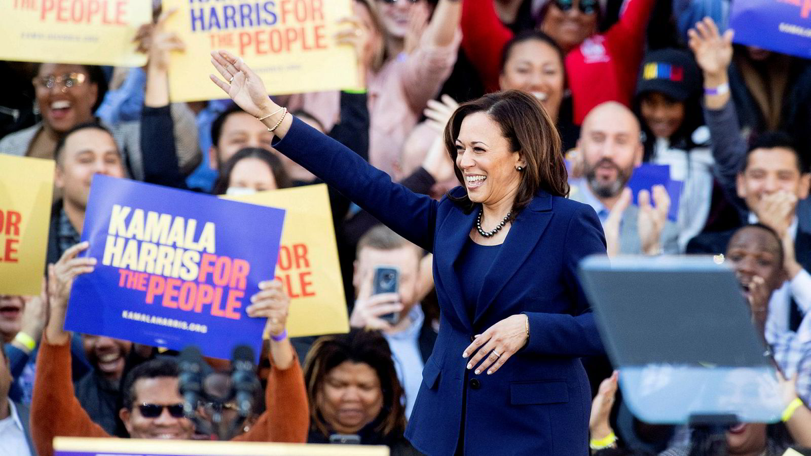 California-senator Kamala Harris lanserte sitt kandidatur i hjembyen Oakland sist søndag. Spørsmålet er om hun har truffet toppformen for tidlig.